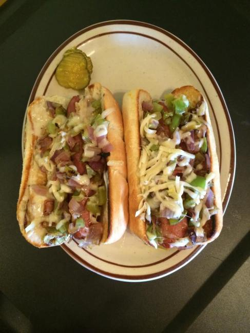 Philly Dogs (w/ chips)